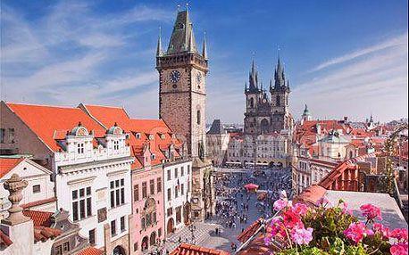 Pobyt v Praze ve 4 * hotelu Villa Milada s polopenzí, bazénem a saunou