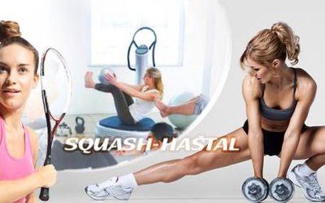 POWERPLATE s fitness na 90 min. nebo měsíční PERMANENTKA na FITNESS, badminton a další v CENTRU Prahy!