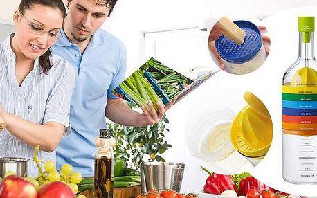 8 dílná sada praktických kuchyňských potřeb