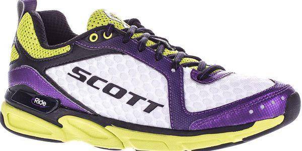 Dámská tréninková bota Womens Eride Trainer2 White/Purple, bílá