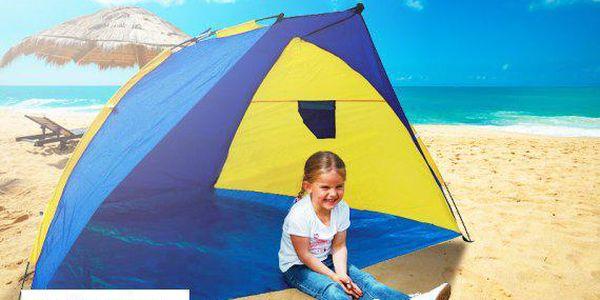 Plážový stan s UV filtrem