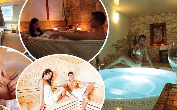 Luxusní wellness pobyt pro dva ve Wine Wellness Hotelu Centro Hustopeče****s polopenzí na Moravě.