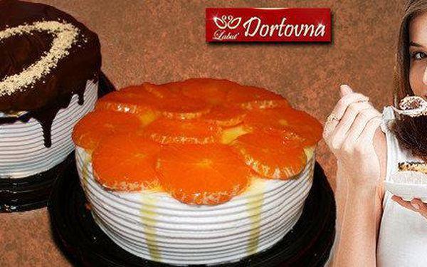 Lehké domácí dorty různých chutí i velikostí
