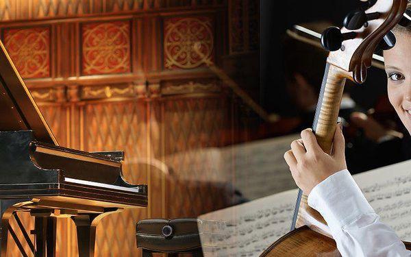 Piano koncert ve Smetanově síni Obecního domu! V podání Dvořák Symphony Orchestra a piano sólisty.