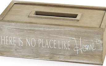 Box na kapesníčky dřevo