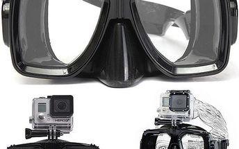 Brýle na potápění s držákem na GoPro