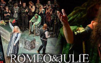 Kupon na nákup 2 vstupenek s fantastickou 50% slevou do RockOpery Praha - Romeo a Julie 10.06.2015.