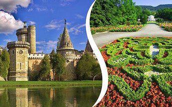 Zámek Laxenburg a návštěva Slavnosti růží