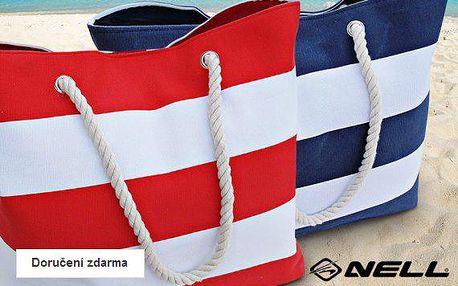 Dámská pruhovaná taška Nell