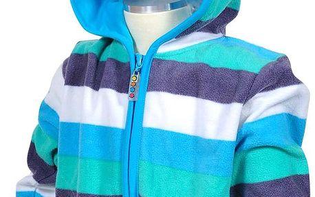 Chlapecká microfleezová bunda/mikina