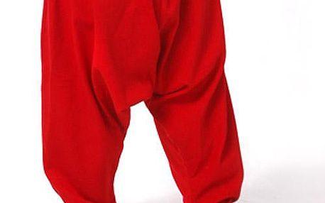 Dívčí letní kalhoty - červené