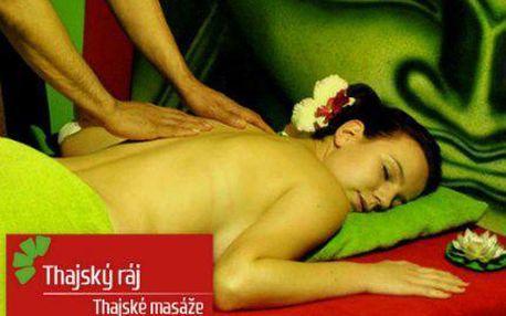 Exotické uvolňující thajské masáže v Thajském ráji v centru Prahy.