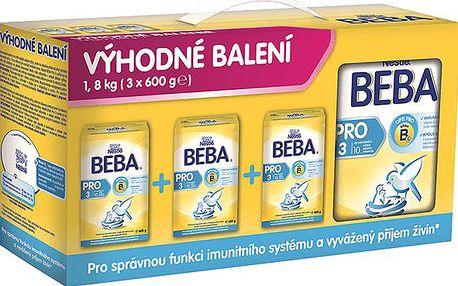 Kojenecká výživa BEBA PRO 3 3x600g