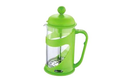 Konvička na čaj a kávu French Press 800 ml zelená RENBERG RB-3102zele