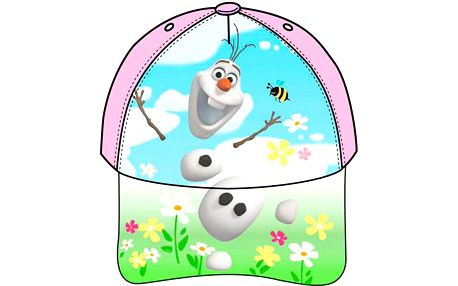 Dívčí kšiltovka Ledové království-Olaf