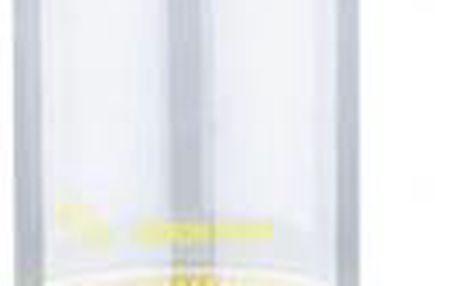 Fitness láhev na vodu s odšťavňovačem 600 ml, žlutá RENBERG RB-3056zlut