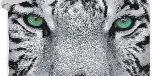 Jerry Fabrics bavlna povlečení - Tygr 2015 140x200 70x90