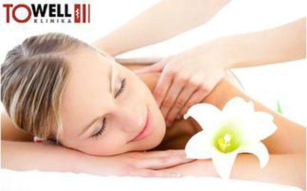 Relaxační klasická masáž zad a šíje. 30 minut maximální péče na klinice To-well.
