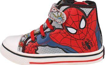 Kotníkové tenisky Spiderman