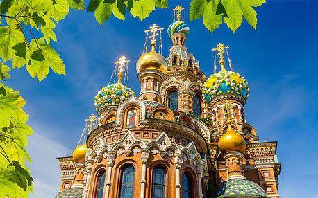 6denní zájezd do Ruska a Litvy s návštěvou Petrohradu či Vilniusu s ubytováním pro 1