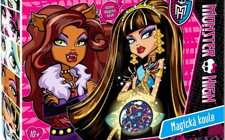ALBI Exprerimentální sada Magická koule - Monster High