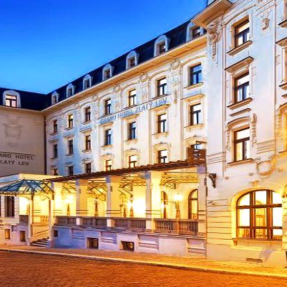 Luxusní wellness pobyt v Clarion Grandhotelu Zlatý Lev**** v Liberci pro dva