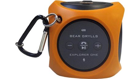 Přenosný a odolný bluetooth reproduktor Bear Grylls Explorer One Speaker (Burnt Orange)