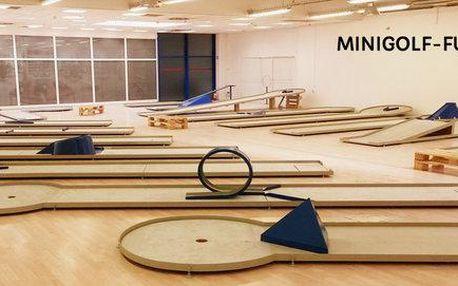 Minigolf pro 2 osoby na 1 hod. v OC Futurum
