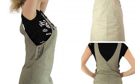 Šatová sukně s laclem Hana!