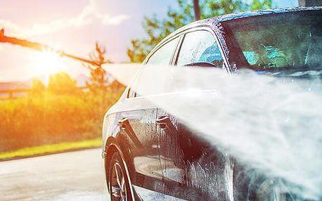 Jarní mytí auta