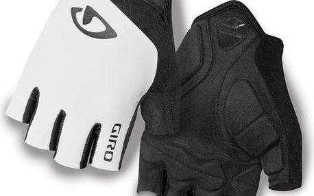 GIRO Jag white vel. L cyklistické rukavice