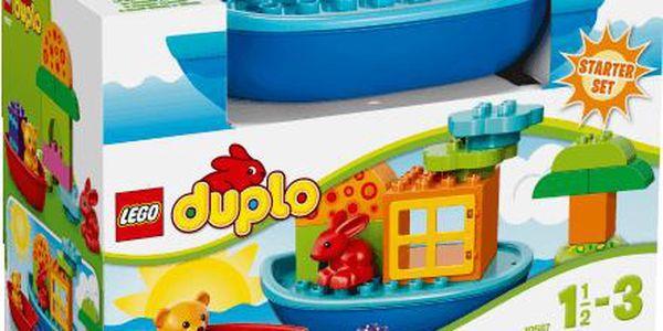 LEGO DUPLO Sada pro batolata - Postav si loďku