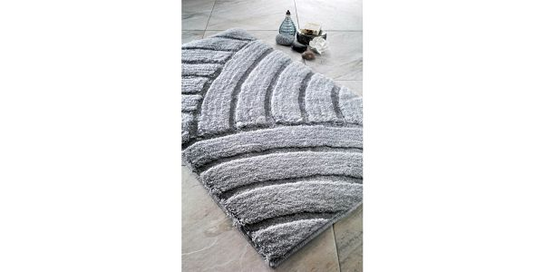Koupelnová předložka Kanya Platinum, 60x100 cm