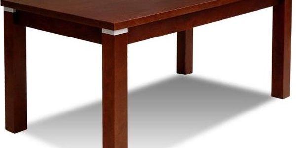 Jídelní stůl BEKY S18-S 70x120/160 - PR17157-2 mahagon