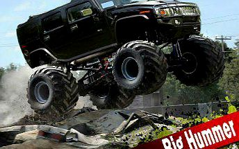 HUMMER MONSTER TRUCK: 30 minut adrenalinové jízdy