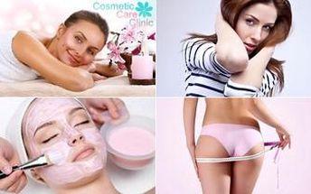 Relaxační balíček pro ženy v délce 150 minut. Kosmetika, masáž, zábal i lymfodrenážní terapie.