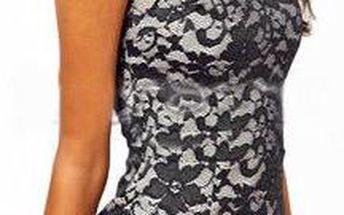 Šaty s potiskem svůdné krajky Jasmine!