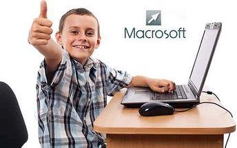 Denné počítačové tábory Macrosoft v Bratislave