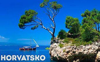 Rodinná dovolená v Chorvatsku v letovisku Brela: Báječný týden u moře!
