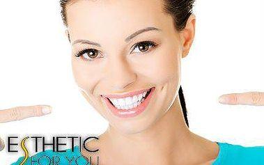 Kosmetické bělení zubů bez peroxidu
