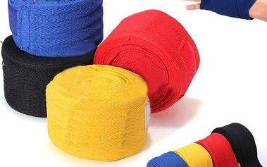Boxerská bandáž 2,5 m - 2 kusy, 5 barev