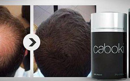 Padají vám a řídnou vlasy? Revoluční přípravek Caboki je řešením!