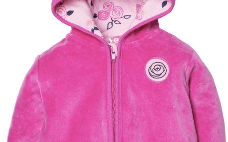 KYTIČKY dívčí velurový kabátek