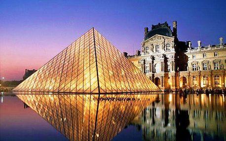 3denní poznávací zájezd pro 1 osobu do Paříže s dárkem