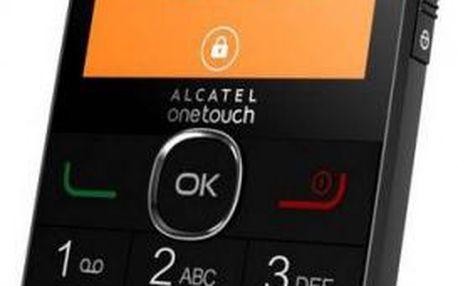 Senior telefon ALCATEL ONETOUCH 2004G Black - Oficiální CZ distribuce