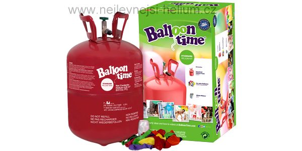 Helium + 30 balónků SLEVA