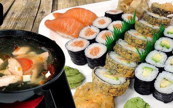 Tokio special menu plné japonských specialit pro dva