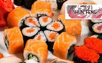 Senzační až 60% sleva na veškeré SUSHI a SUSHI SETY a další asijské speciality na Karlově náměstí!