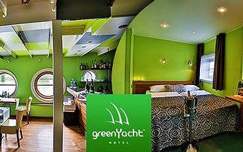 4* Greenyacht hotel zve na palubu! 2 nebo 3denní romantický wellness pro dva!