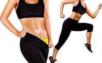 Speciální hubnoucí fitness legíny pro rychlejší spalování kalorií a tuků a to až 4x účinněji!